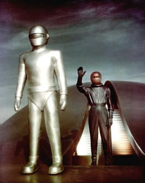 The Day The Earth Stood Still Science Fiction Film Sci Fi Science Fiction