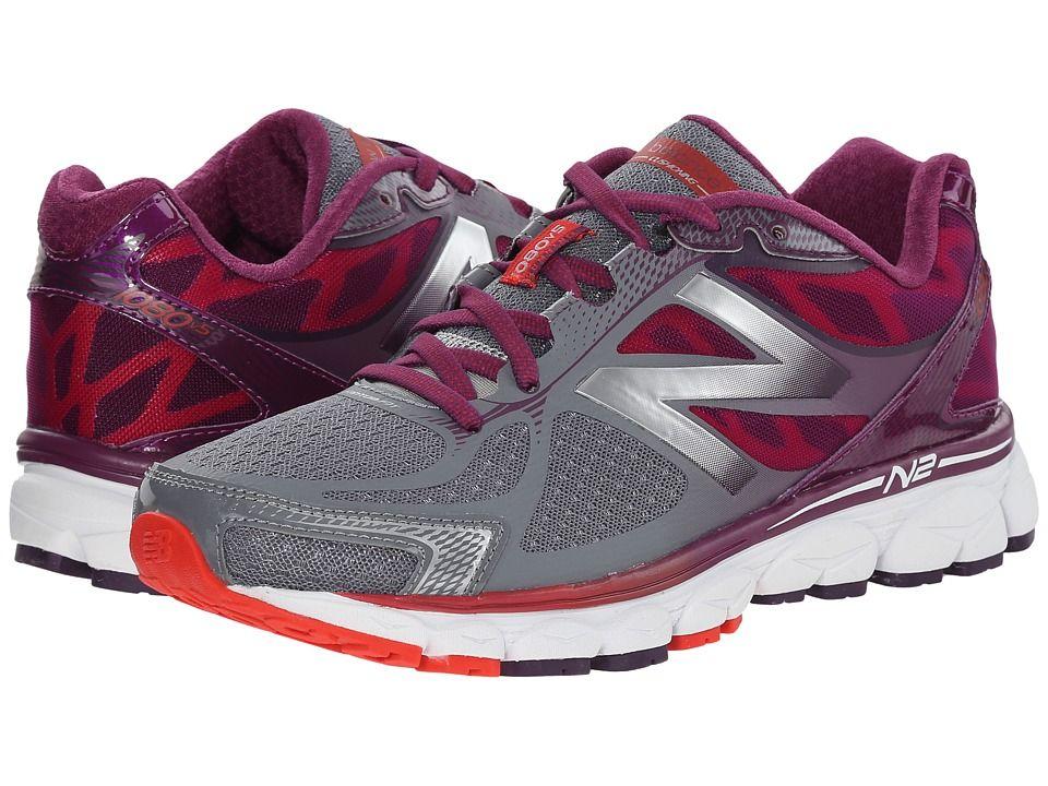 Womens Shoes New Balance W1080v5 Grey/Purple