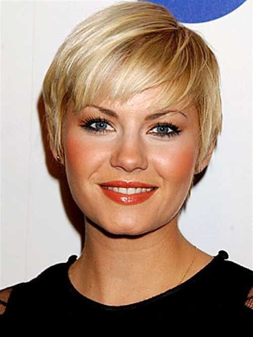 Jenna Elfman S Blonde Straight Fine Hair