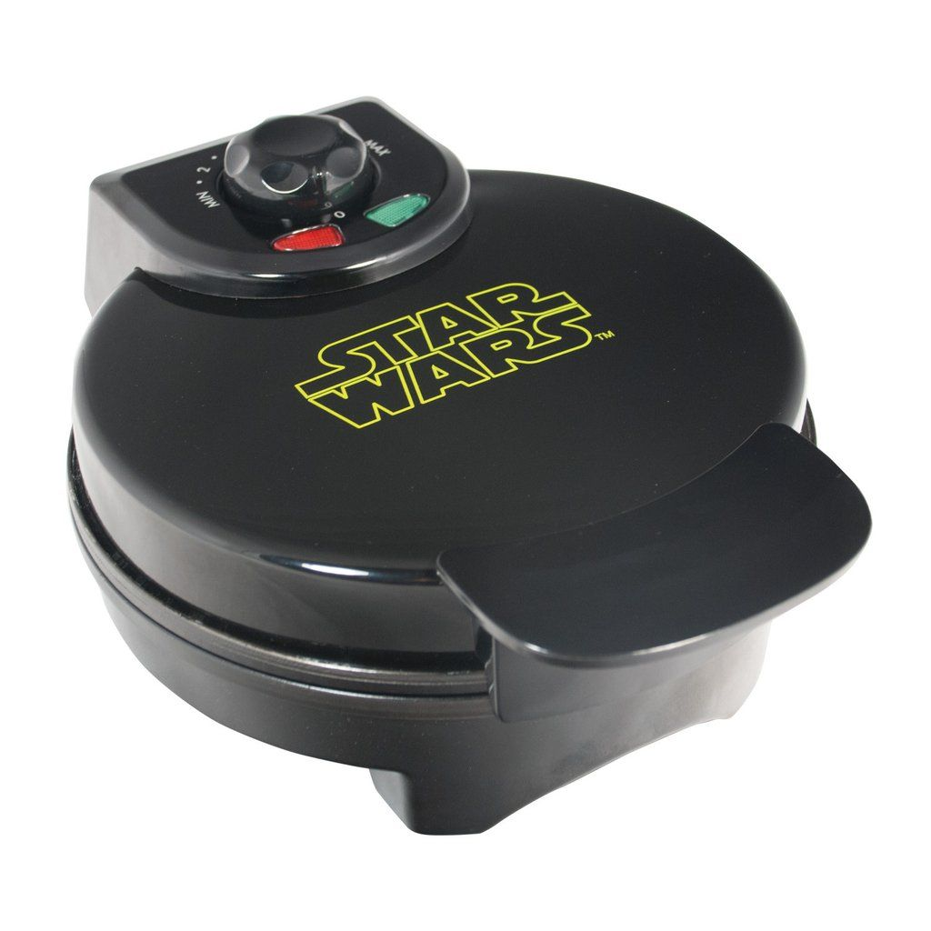 Darth Vader™ Waffle Maker – Pangea Brands #PangeaBrands #StarWars #DarthVader #TheDarkSide #TheForce #MayTheForceBeWithYou #Breakfast #Waffles #Foodie