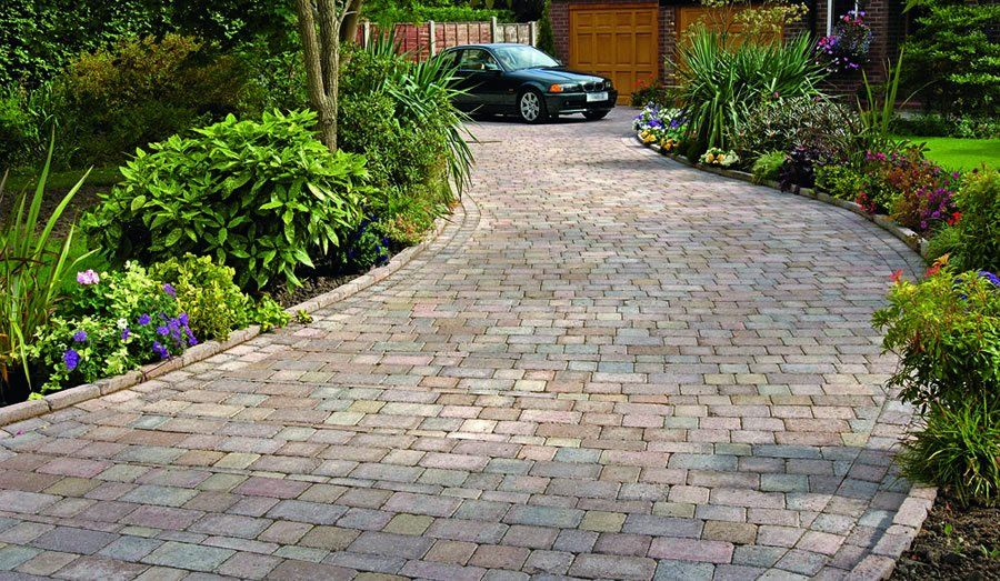 driveway patio specialist hampshire hambrooks - Driveway Patio Ideas