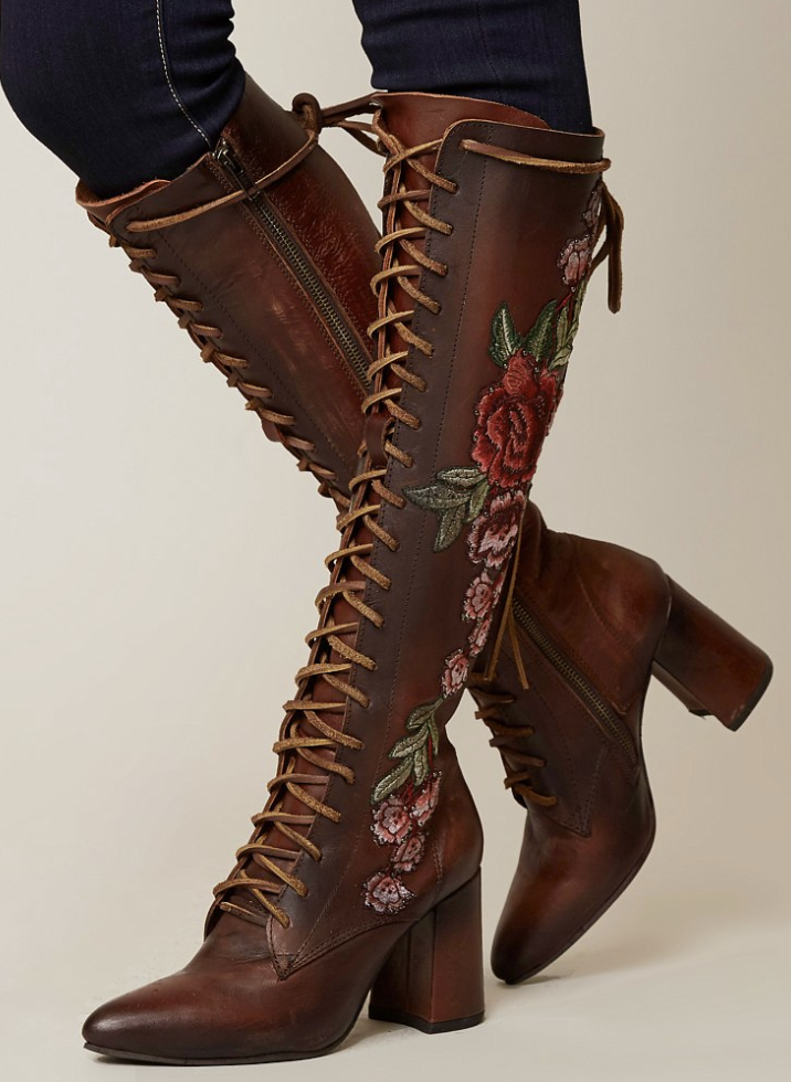7eb19358e61 Embroidered Leather Boots   Freebird by Steven Jolie Boot