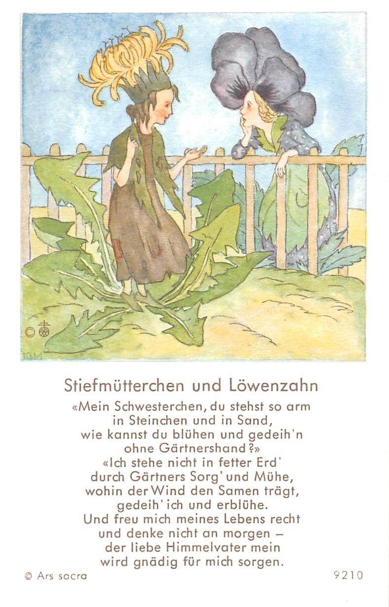 "Fleißbildchen Heiligenbild Gebetbild /"" IDA BOHATTA /"" Holy card Ars sacra/"" H531/"""