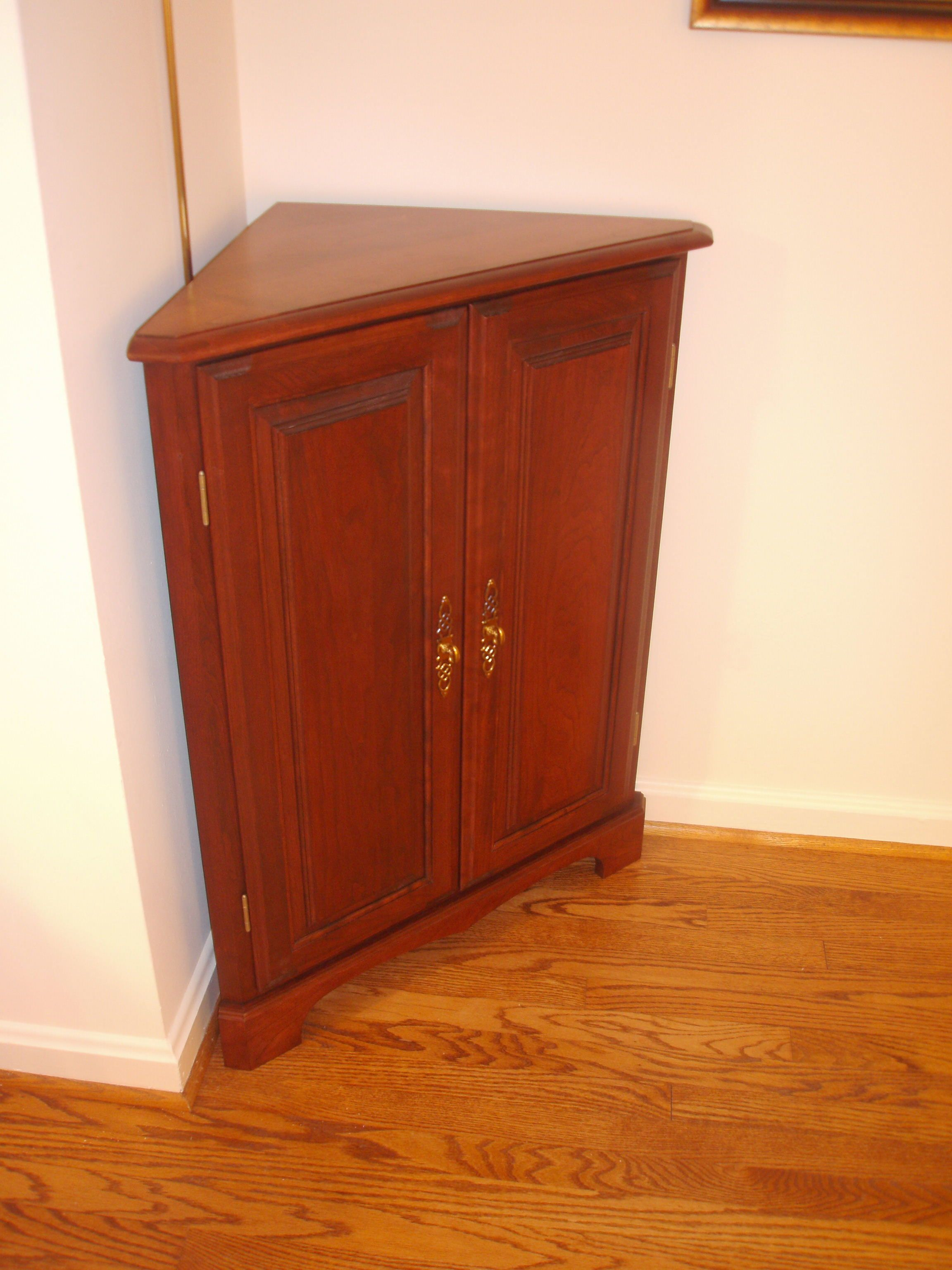 Superb Cherry Corner Cabinet Furniture Small Corner