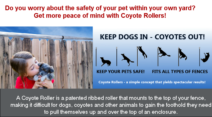 Non Lethal Coyote Amp Animal Deterrent That Looks Great On