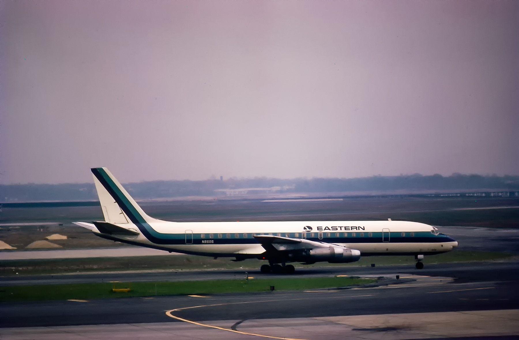 Eastern DC-8   Douglas aircraft, Vintage airlines, Douglas ...