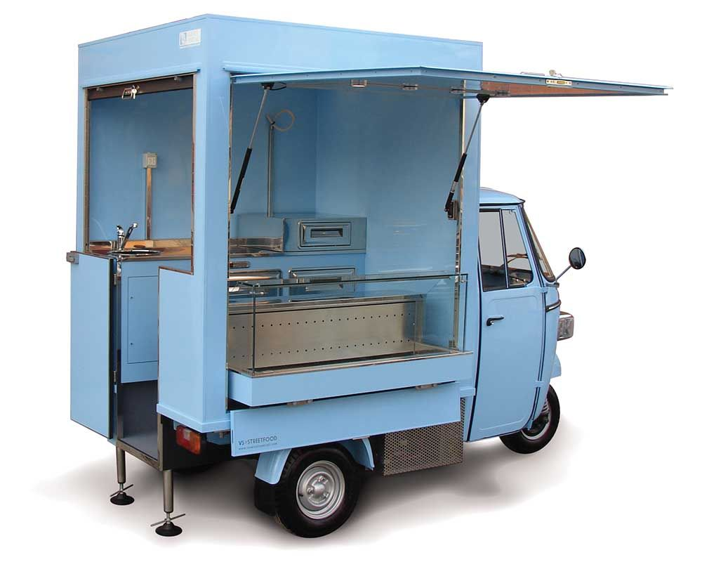 pizza piaggio ape made in holland | piaggio ape classic with
