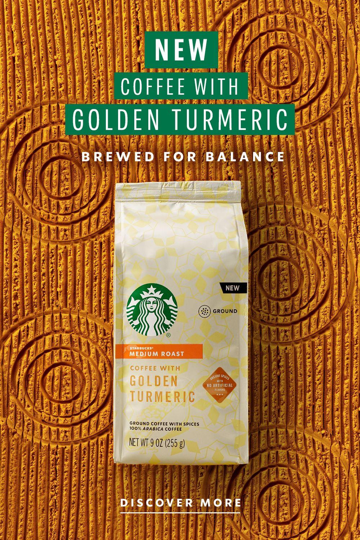 Starbucks Golden Turmeric Starbucks At Home Us In 2020 Starbucks Coffee Starbucks Drinks Recipes Turmeric