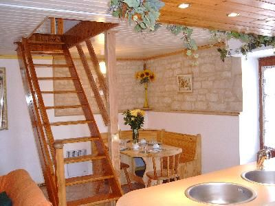 Attic Style Staircase Fits Into Small Space I Would Love