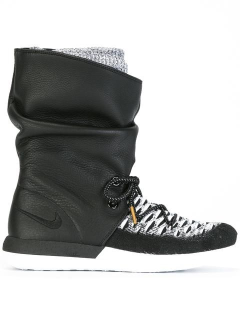 lowest price 6599a 76b67 Shop Nike  Roshe Two Flyknit Hi  sneakers.