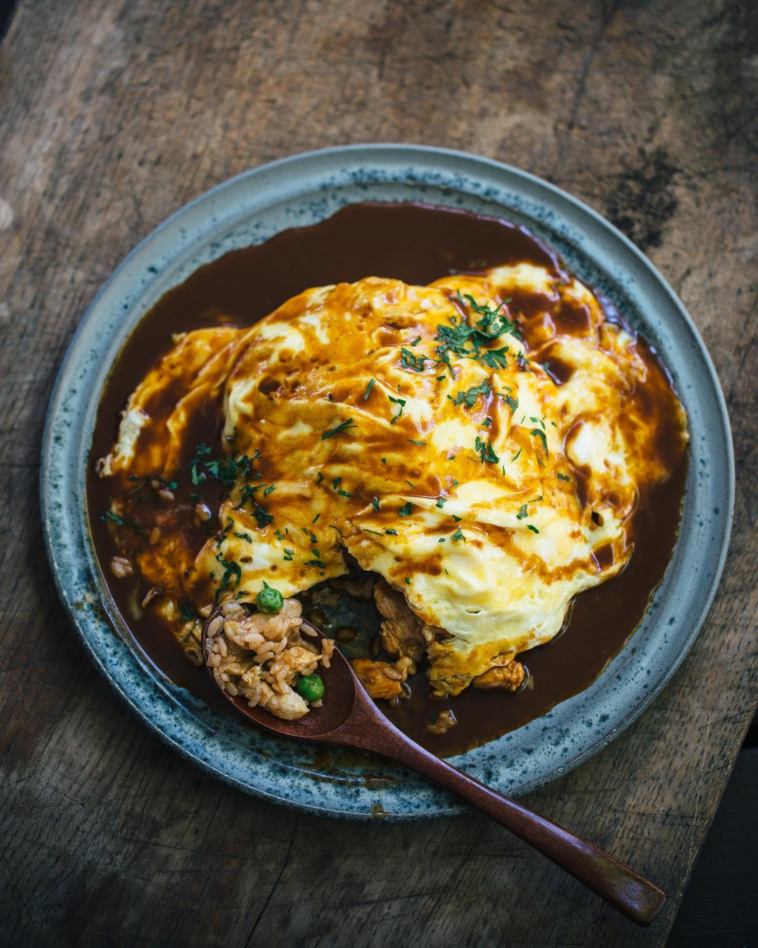 Homestyle Omurice Adamliaw Com Omurice Omurice Recipe Recipes