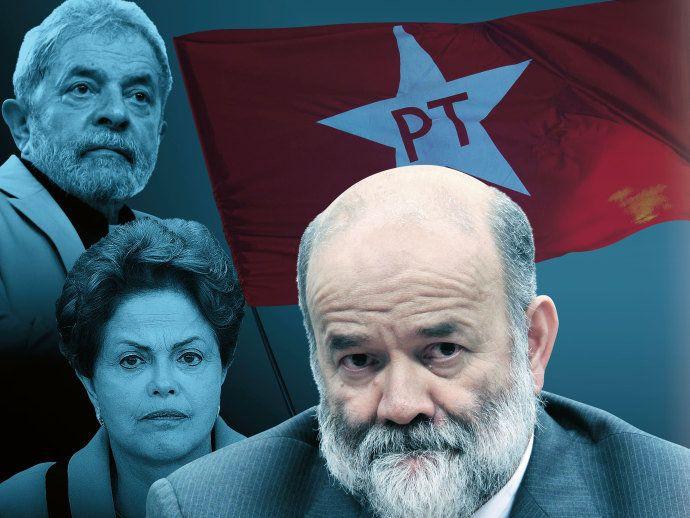 """A """"IGREJA"""" CAIU - Com a ajuda de Vaccari, o PT arrecadou pelo menos meio bilhão de reais em propina apenas na estatal. Homem de confiança de Lula, ele pagou despesas eleitorais de Dilma com o dinheiro sujo"""