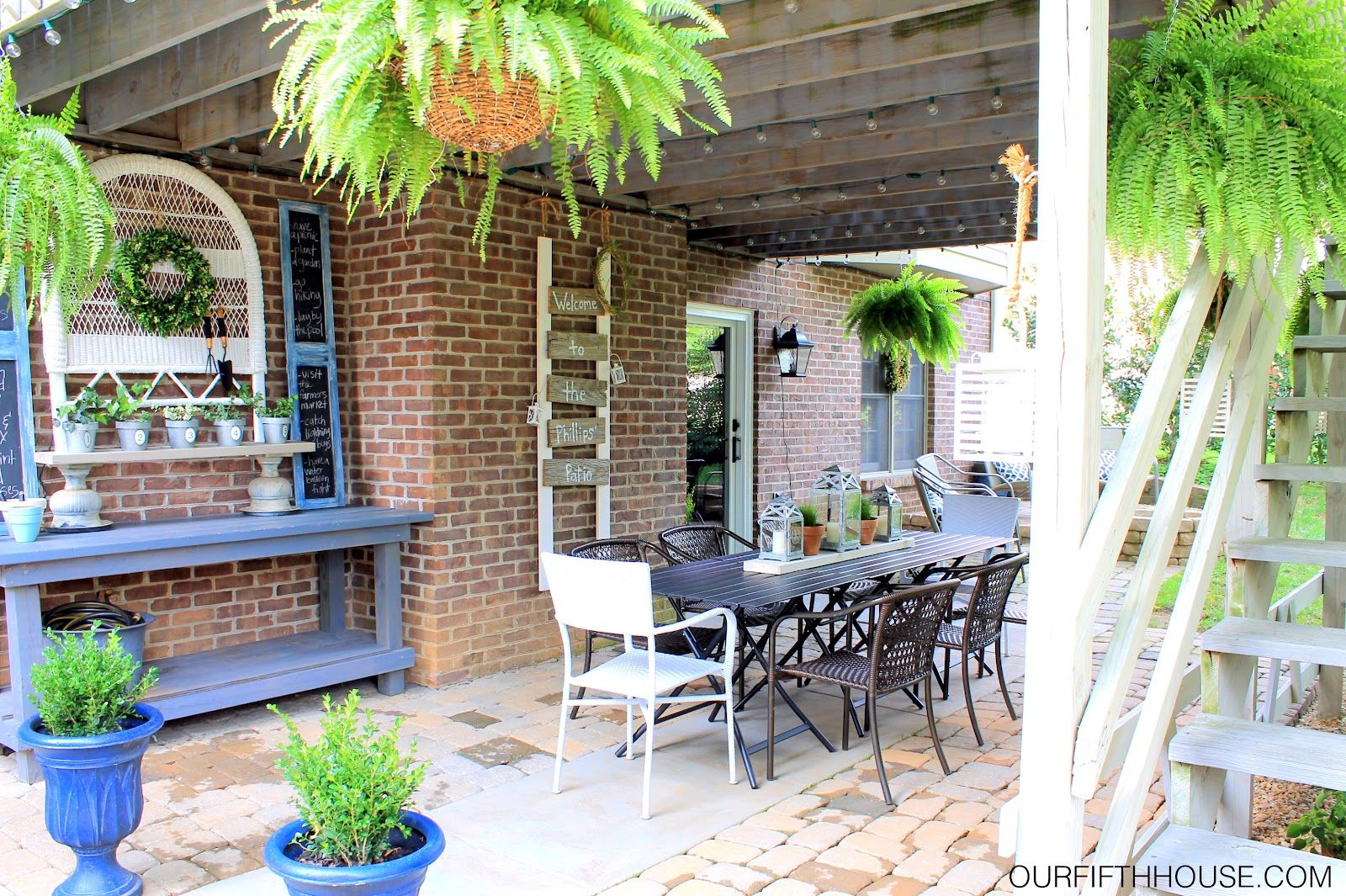 outdoor dining areas - Google Search