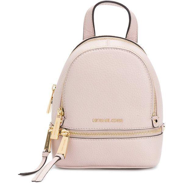 michael michael kors rhea backpack 955 ron liked on polyvore rh pinterest com