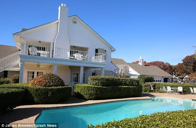Revealed larry hagman 39 s ashes to be scattered at for Southfork house plan