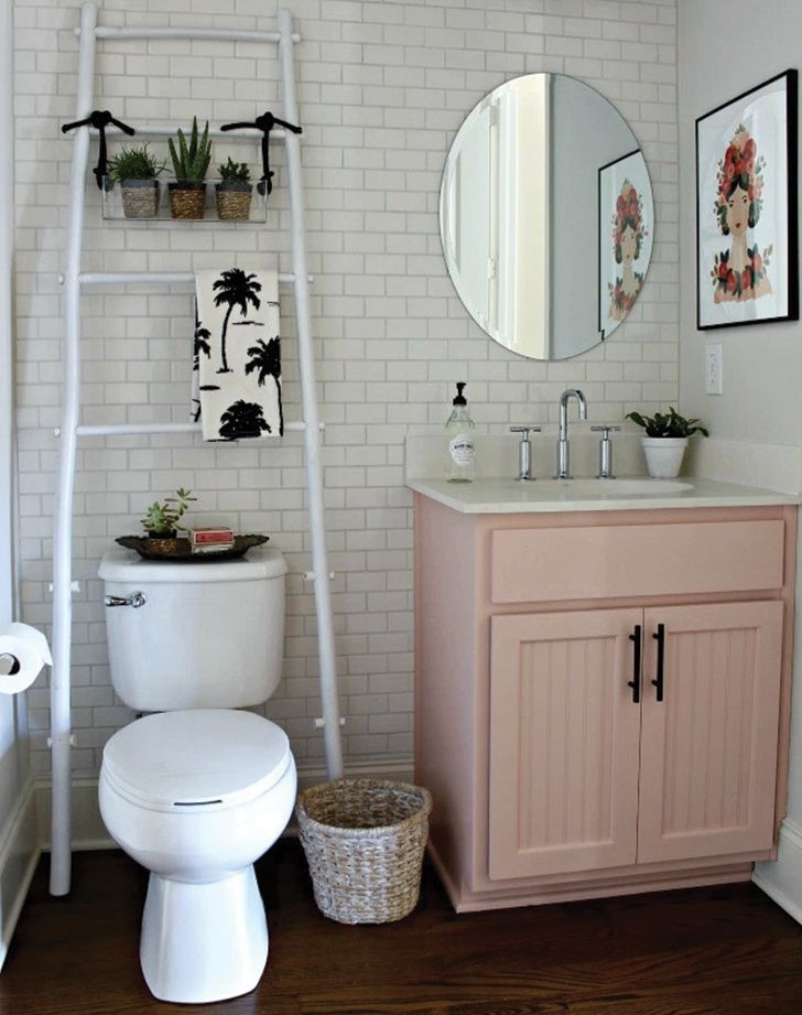 Cute Bathroom Vanities Vancouver Bc. Cutest bathroom  I love the pink unit under sink and tiles plants Ugh your needs a makeover but you re saving for