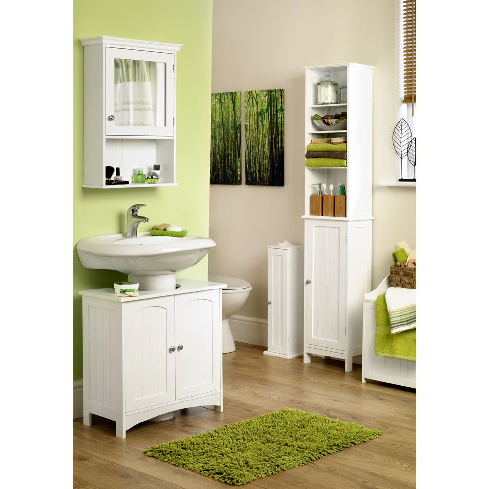 Wilko Bathroom Cabinet Colonial Under Basin Unit White Cupboard Bathroom Under Basin