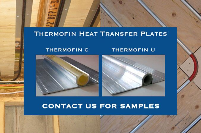 Thermofin for Best flooring for hydronic heat