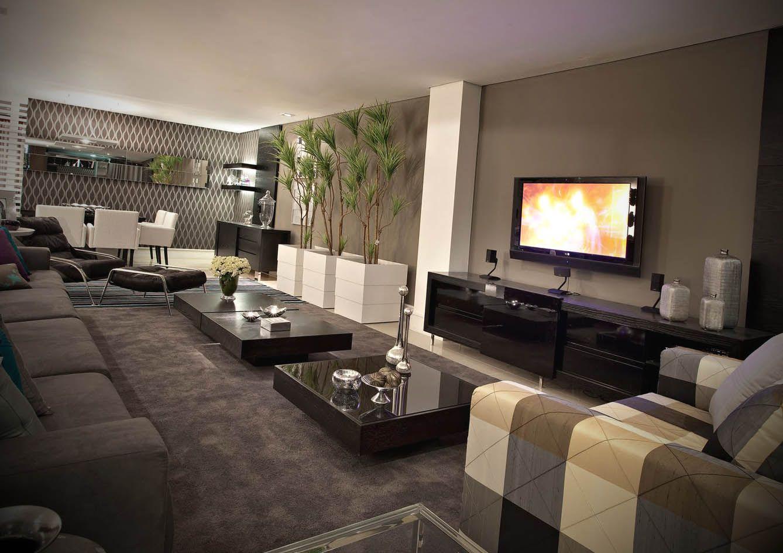 Salas Decoradas Com Fotos Living Rooms Room And House -> Salas De Luxo Decoradas