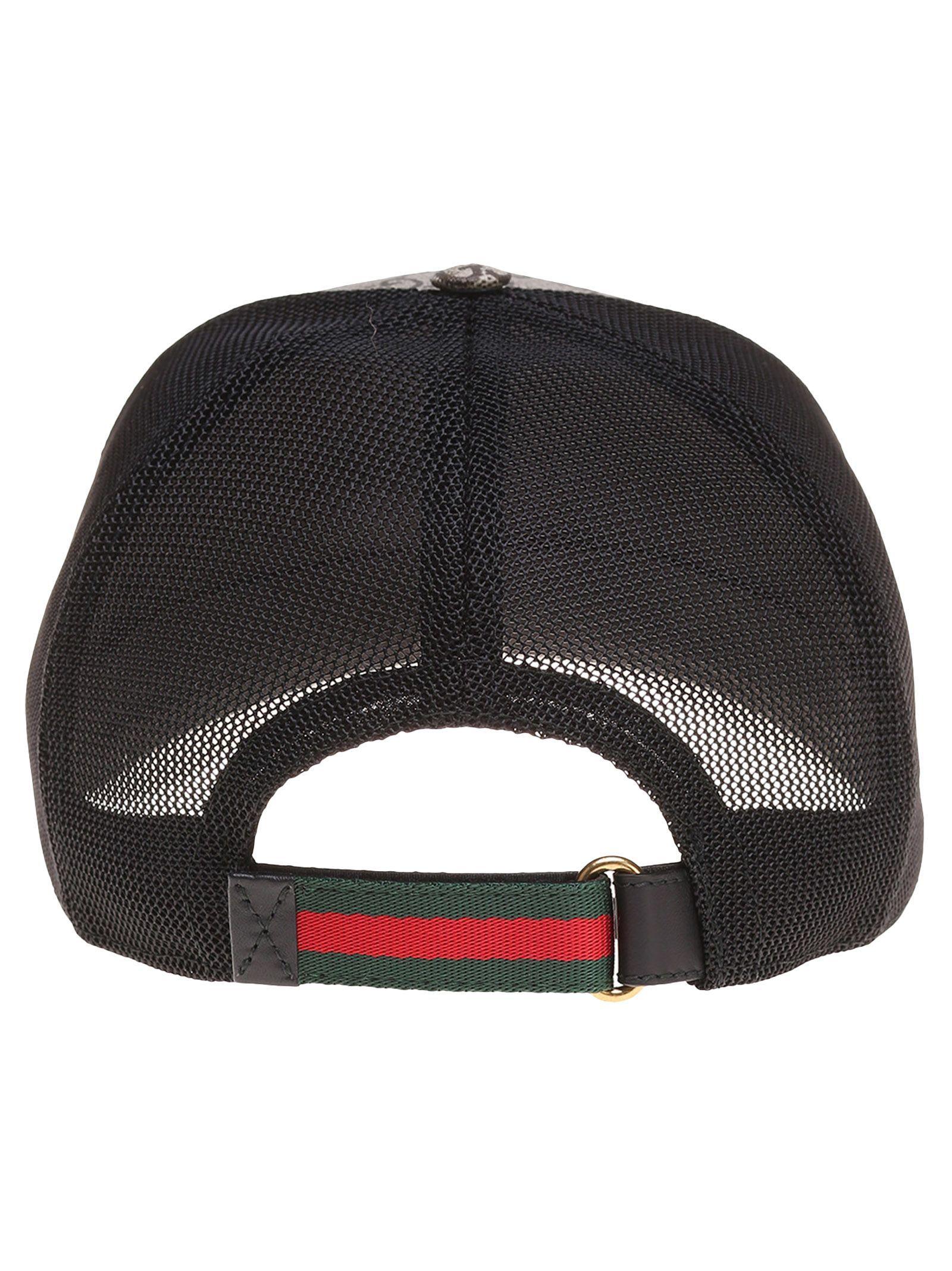 e823a4d346cae3 GUCCI BEE PRINT GG SUPREME BASEBALL HAT. #gucci # | Gucci Men | Hats ...