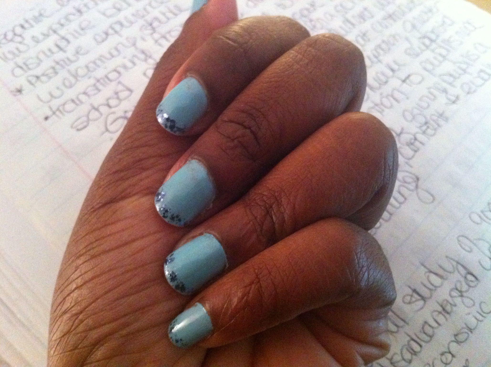 Blue Lagoon! #nails Wintertime!