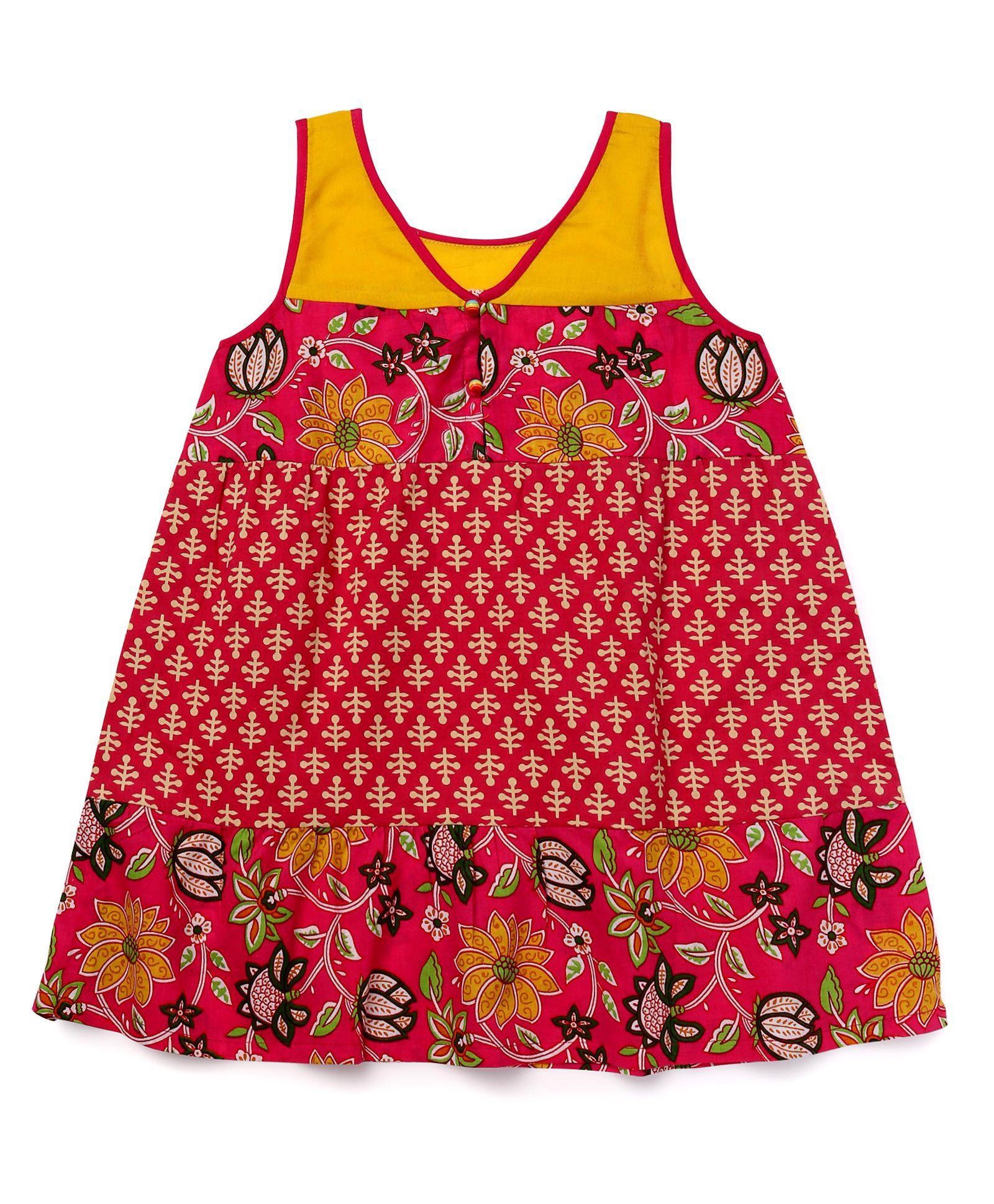 9ae623c7c7dfe Buy Alpna Kids Printed Tunic Multicolor for Girls (5-6 Years) online ...