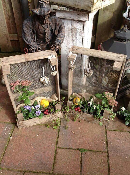 Creatief met gaasbakken - hout | Pinterest - Creatief ...