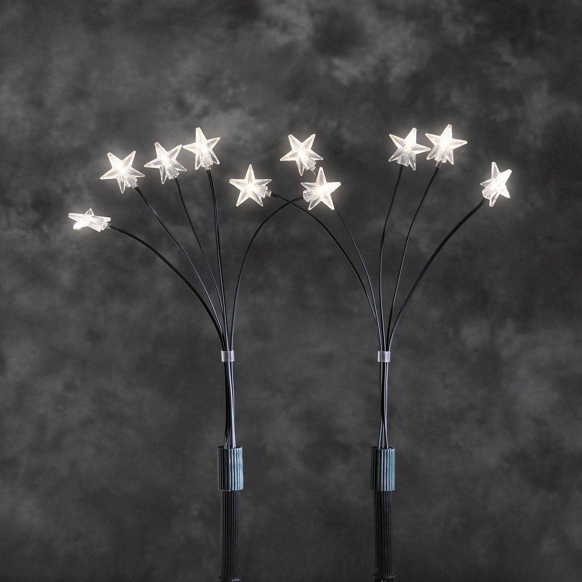 Konstsmide 4053 100 Set Van 5 Prikstokken Met Lichtsterren 25 Led Lampen Ster Led Led Led Lamp Lampen