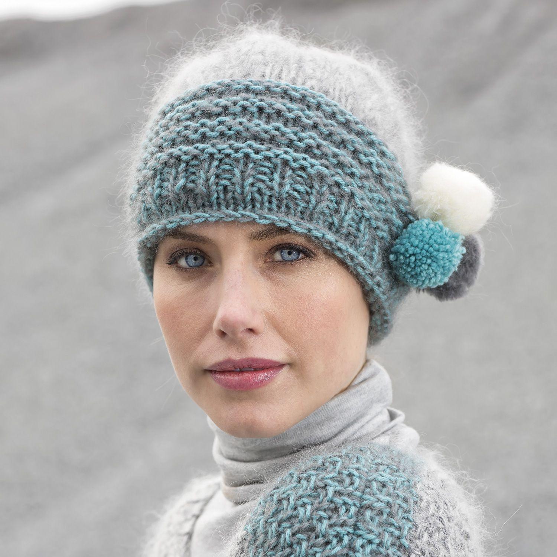 Patroon Breien Haken Dames Muts Herfst Winter Katia 6102 21 G