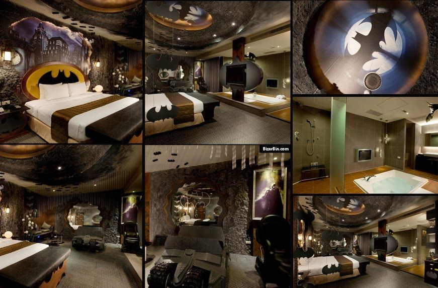 Man Caves Batman : Batcave room eden hotel taiwan products i like