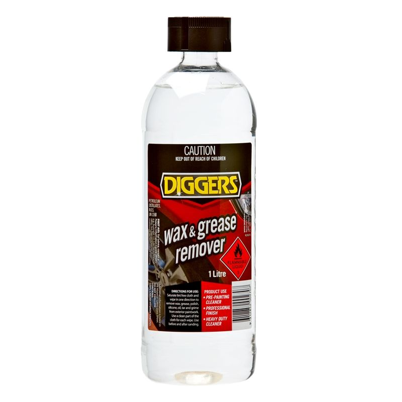 Find Diggers Wax Amp Grease Remover 1l At Bunnings Warehouse Visit Your Local Store For The Widest Range Of Paint Amp Grease Remover Grease Surface Cleaner