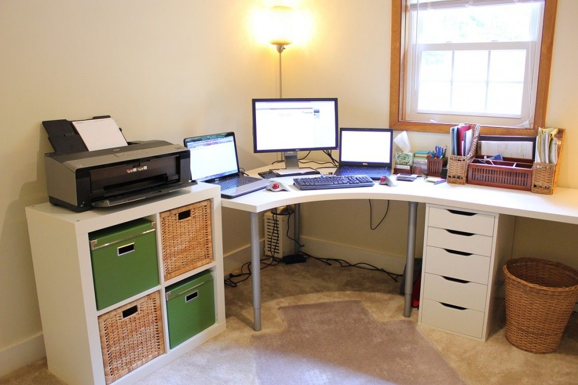 organizer furniture with all corner image of office drawer drawers smart white desk