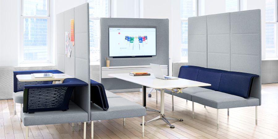 Herman miller office cerca con google interior for Living office concept