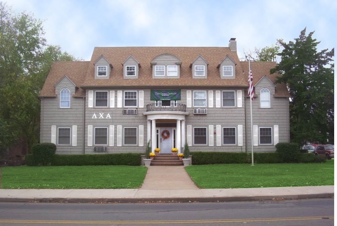 Lambda Chi house at Oklahoma State! Have some great memories