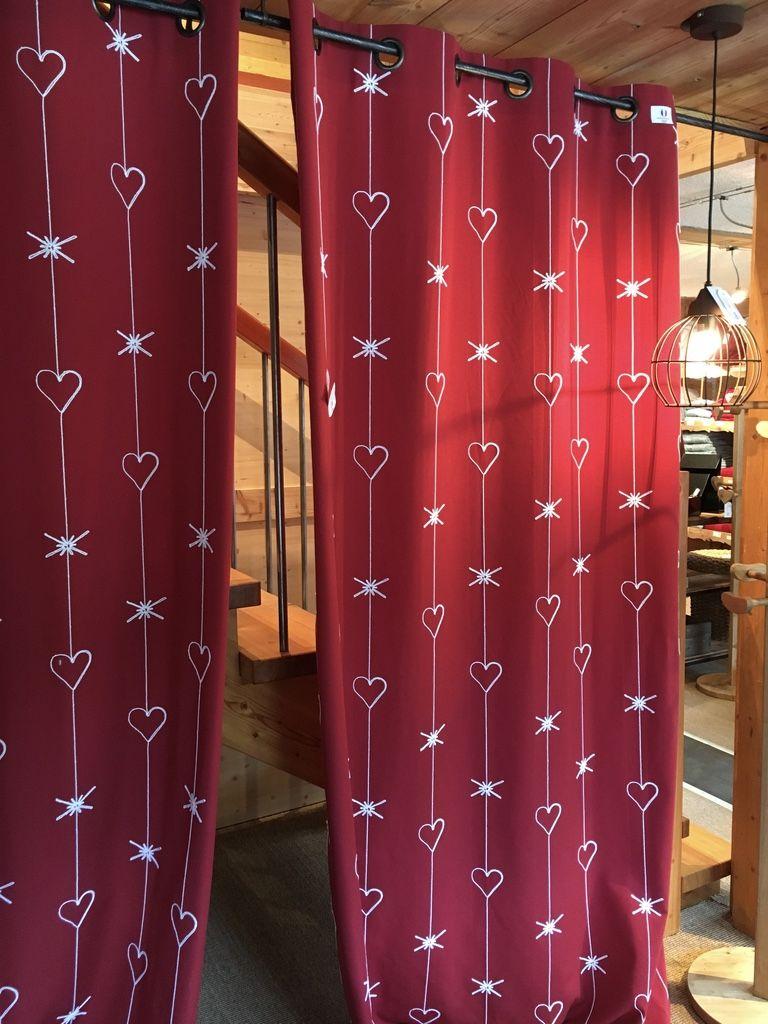 Rideau tricotine grand nord en 2019 | Textile, coussins, rideaux et ...