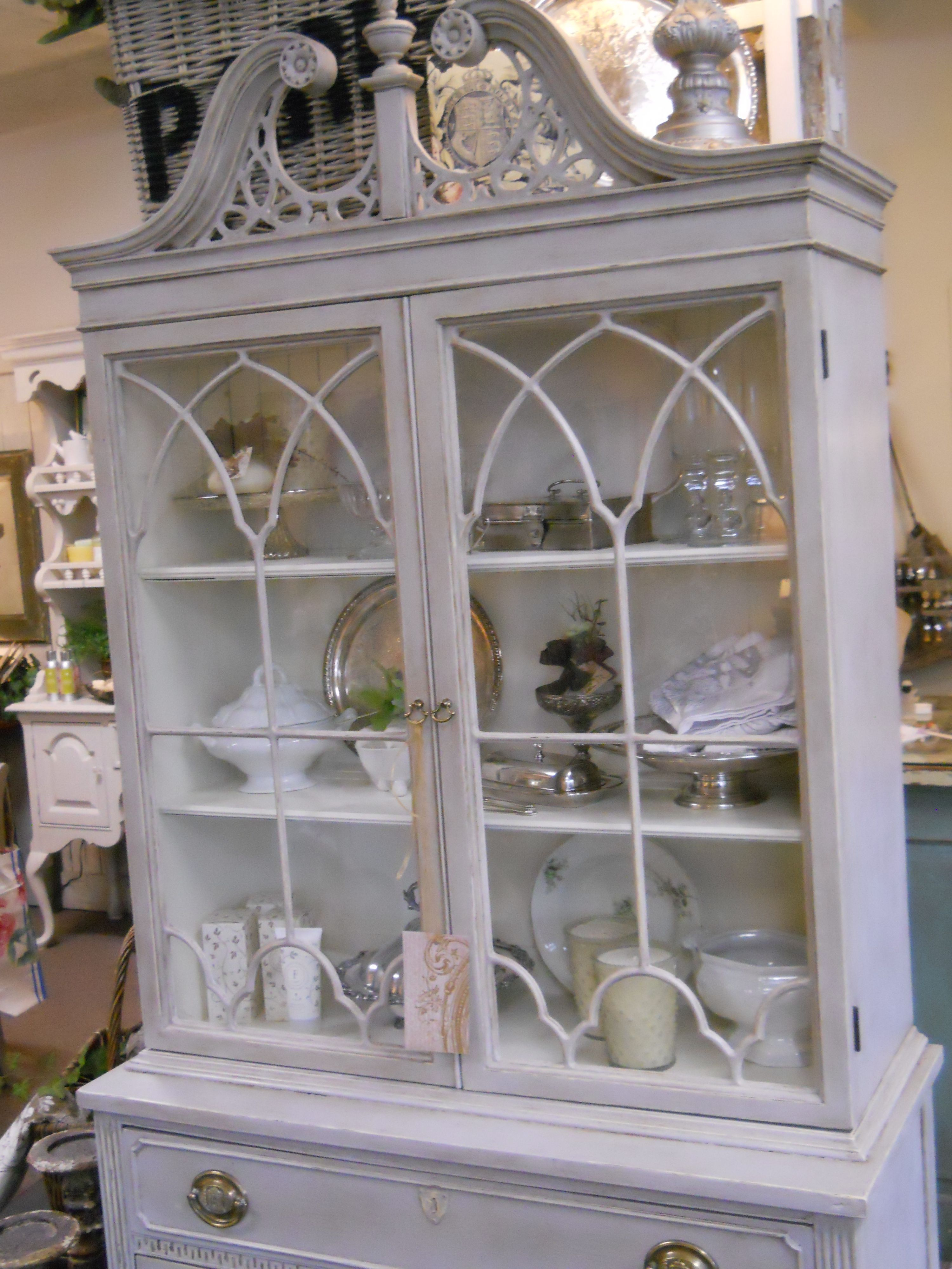 door sold with china shop cabinet paintwork pine antique two grey dark