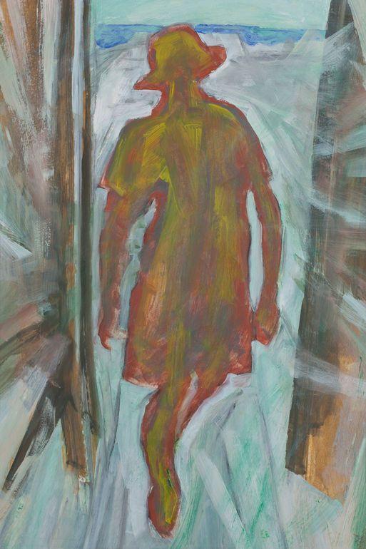 lonely woman painting - Google zoeken