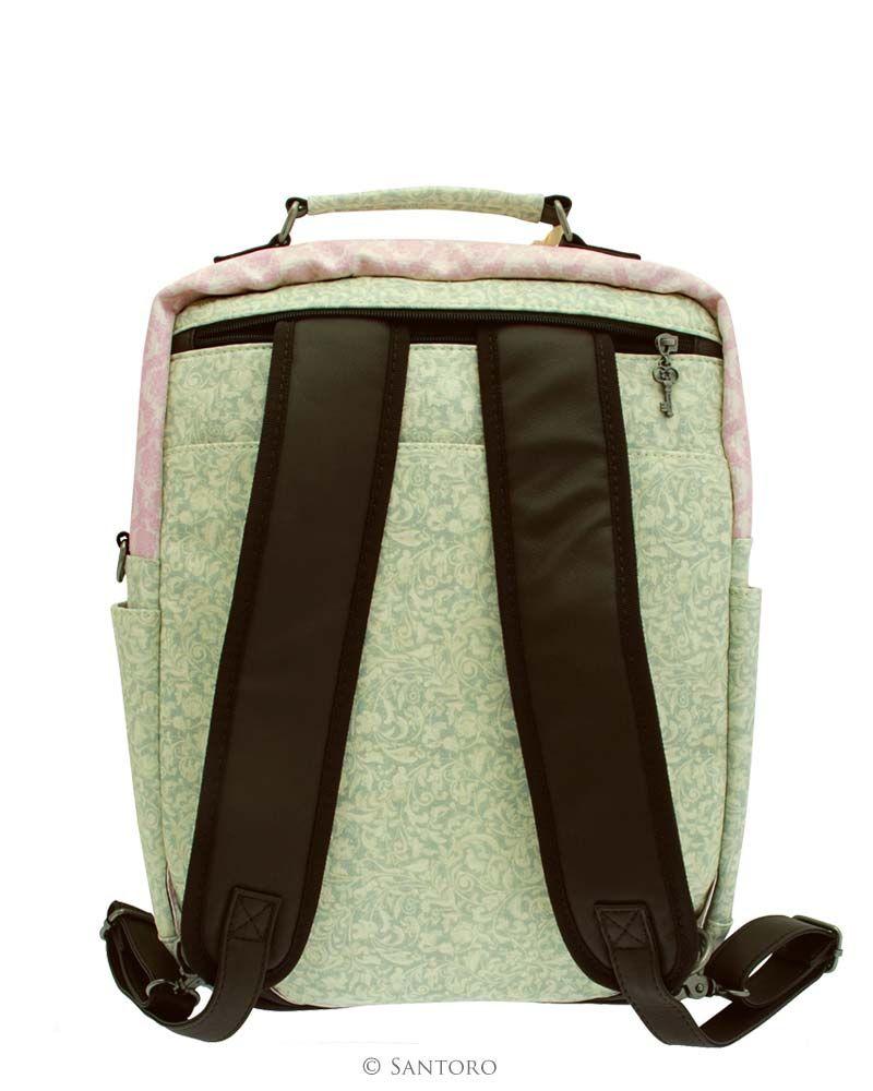 38cm Laptop Backpack - If Only Santoro's Mirabelle