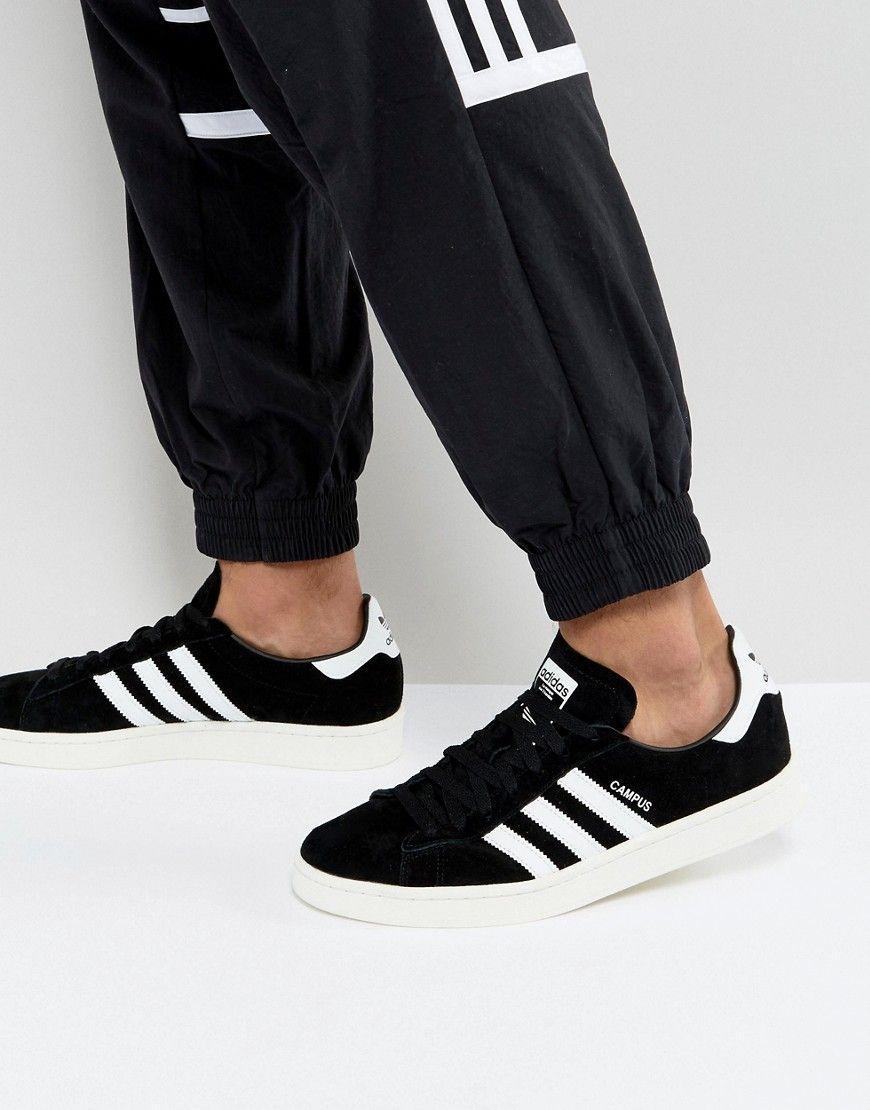 adidas casual hombre zapatillas negras