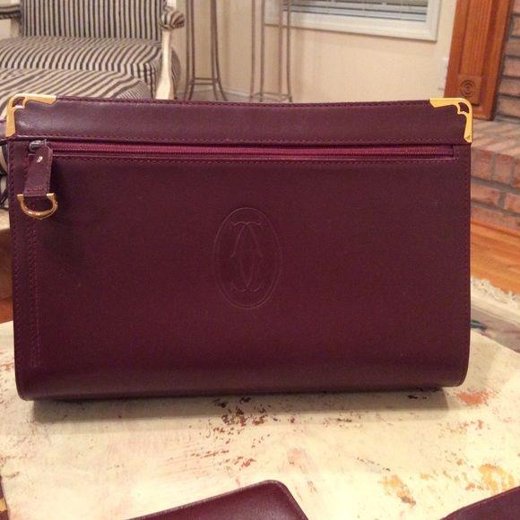 Price Drop Mens Cartier Clutch Bag