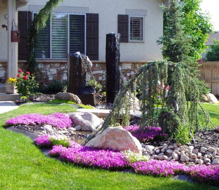 Quelques idées d\'aménagement paysager devant maison | Aménagement ...
