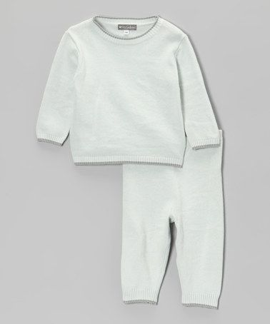 30320c7aef8b This Blue   Gray Elbow Patch Sweater   Pants - Infant is perfect ...