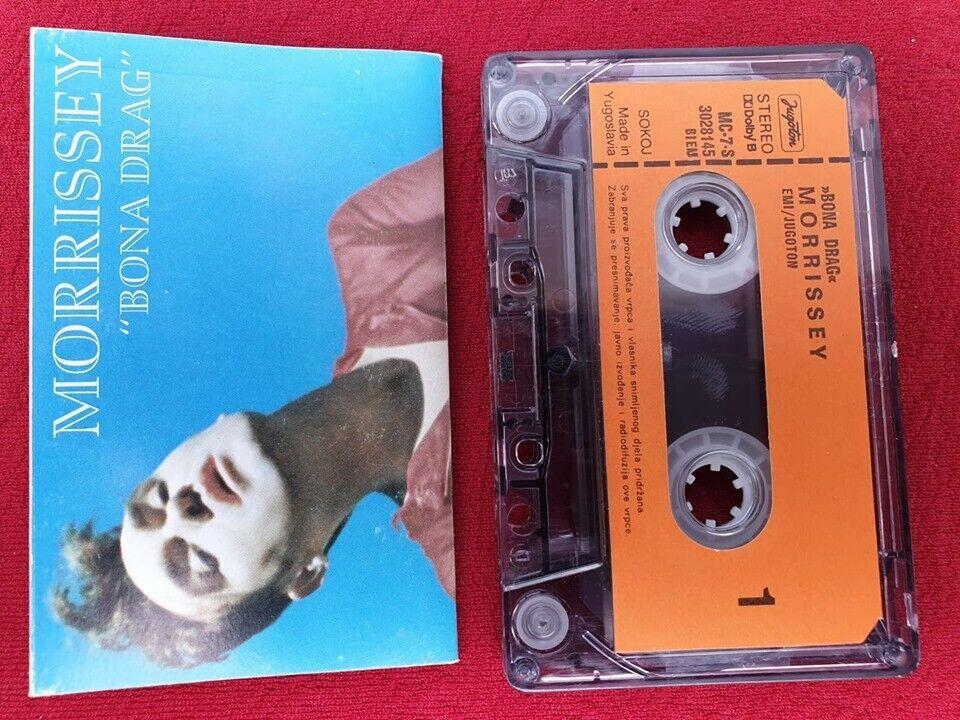 Morrissey Bona Drag Original Cassette Tape Jugoton 1990 The Smiths Morrissey Alternativeindie The Smiths Morrissey Morrissey Will Smith