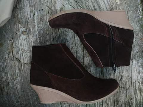 Sepatukulit Boots Wanita Qur Aniyah By Smo Pre Order Wa