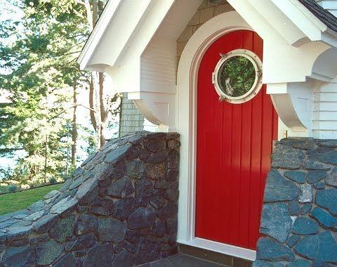 Porthole Window Ideas For Your Home Porthole Window Nautical Front Door Decor House Exterior