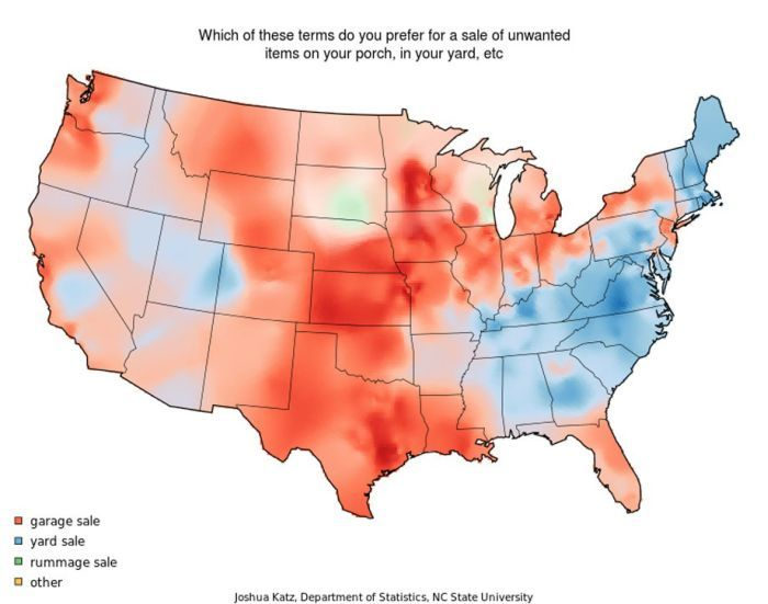 Map of American Accents --well, community calls it a