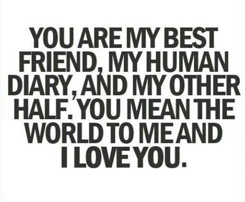 I Love You Best Friend Quotes 22 Unforgettable Baby Names | B Best Friends | Pinterest | Love  I Love You Best Friend Quotes