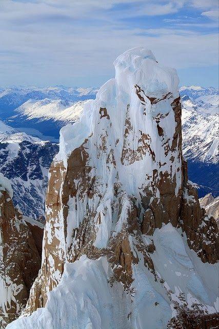 Cerro Torre in Patagonia Argentina