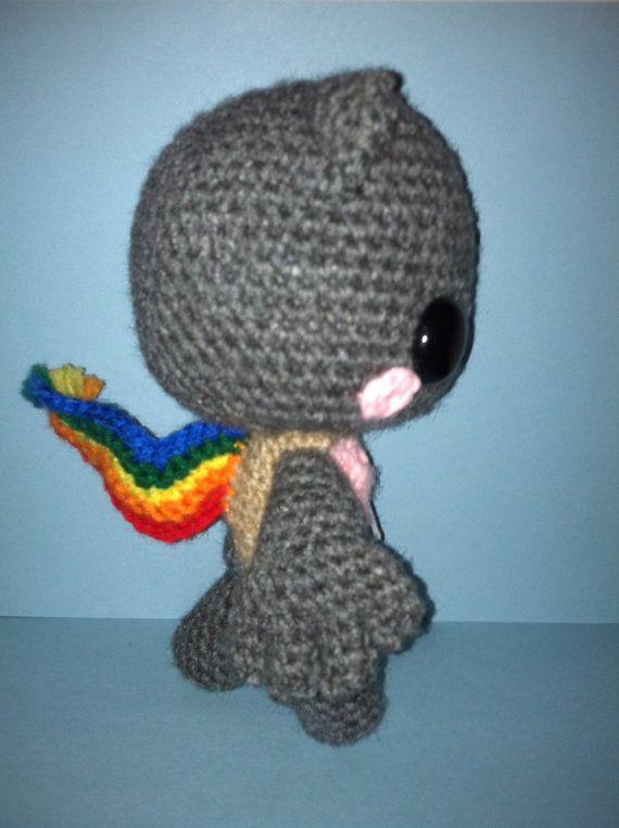 AWWWWWWWWWWWW Nyan Cat Sackboy. $40.00, via Etsy. | crafts | Pinterest