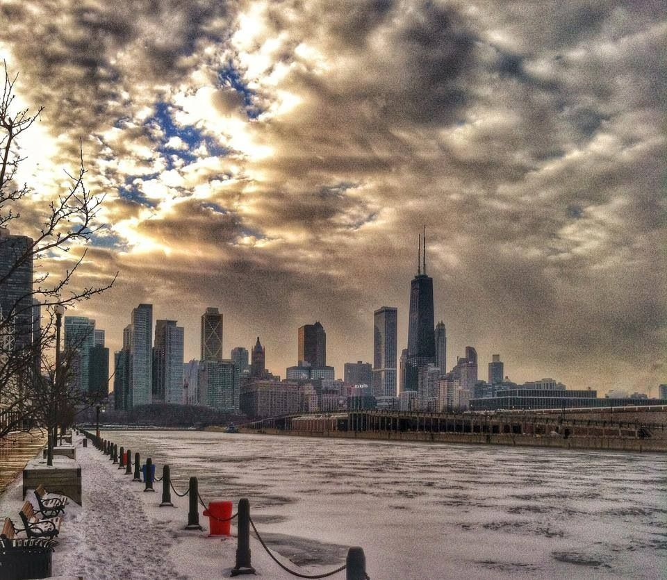 Chicago Winters Day Ah Yes I Remember It Well Windy City Chicago Chicago Illinois Downtown Chicago